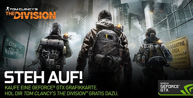 "nVidia ""The Division"" Spielebundle"
