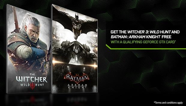 nVidia Witcher/Batman-Spielebundle