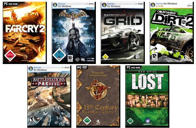 Grafikkarten Spiele Bundles